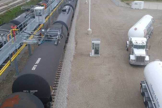 Rising Demands for Propane Railcar Terminals