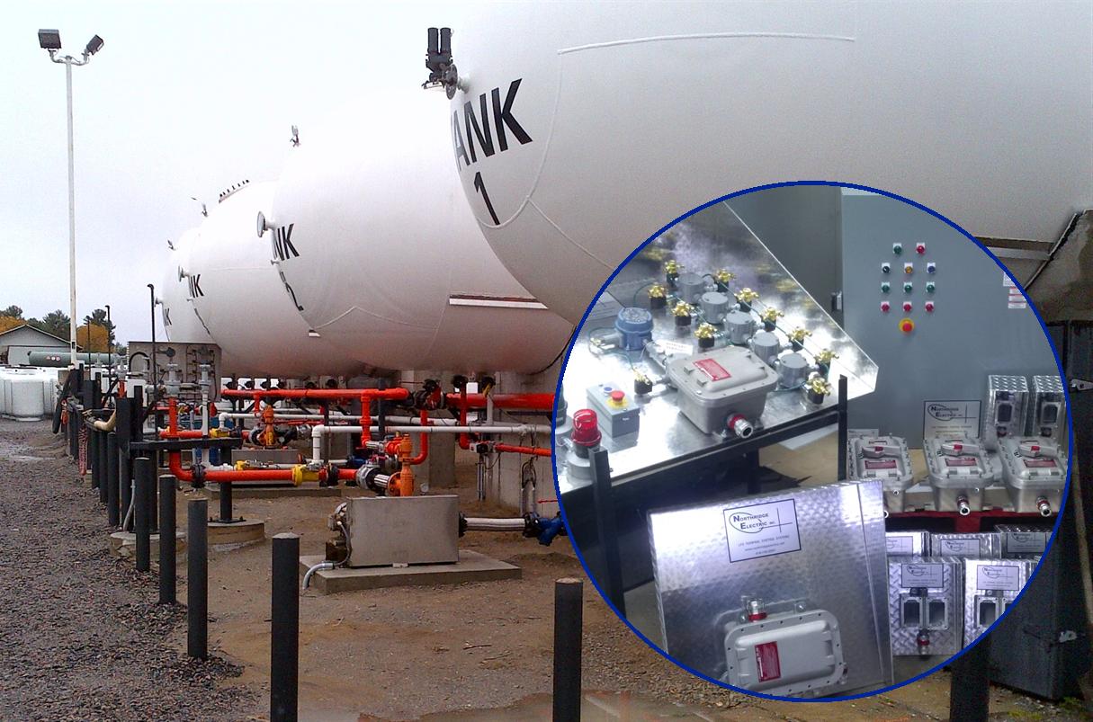 Preassembled LPG Terminal Control System - Gravenhurst ON