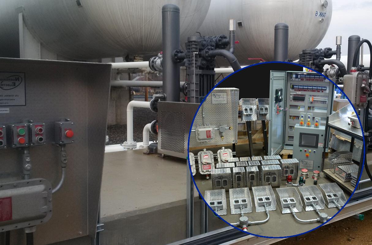 Preassembled LPG Terminal Control System - Milford VA